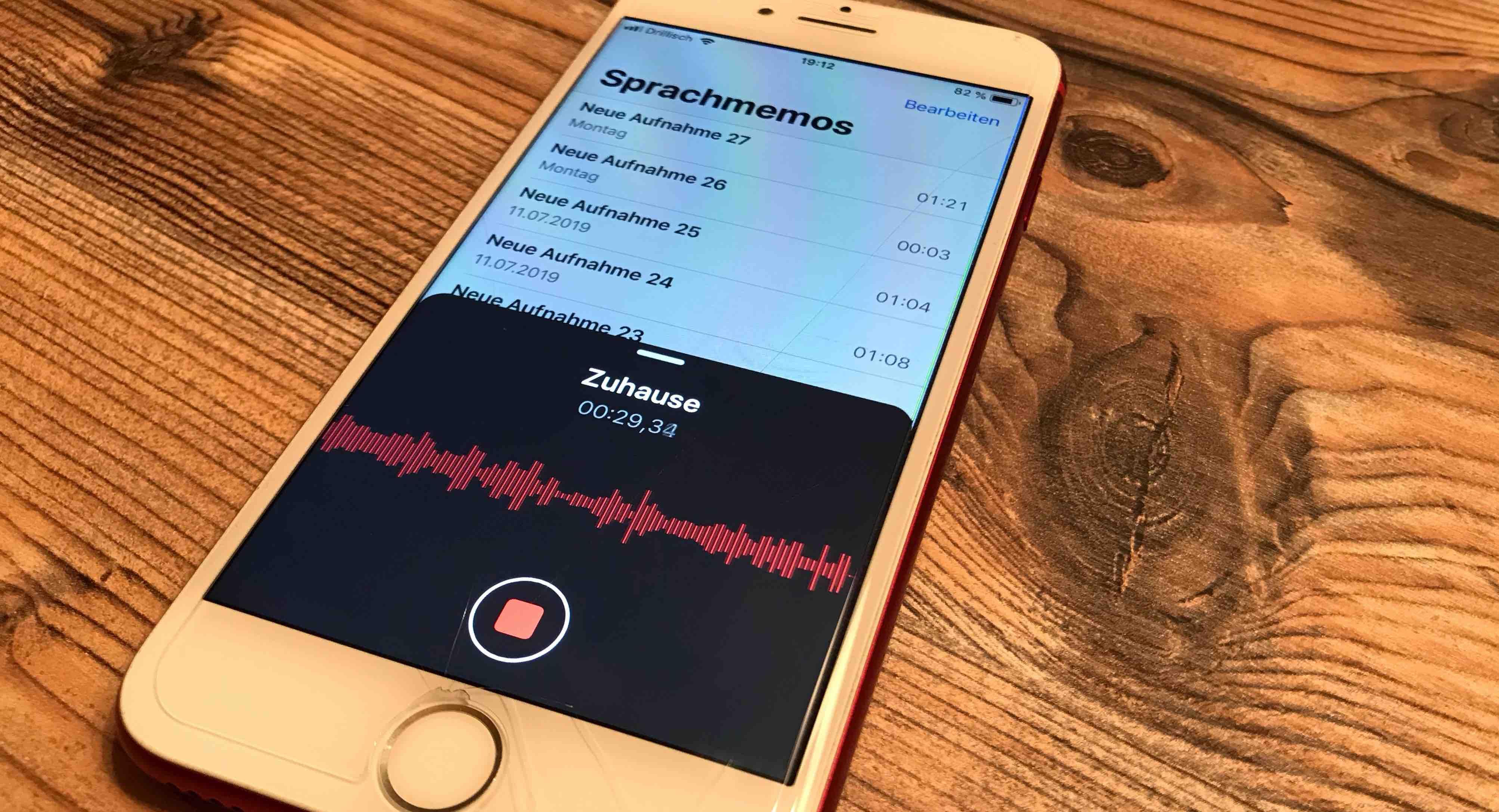 Sprachmemo-App