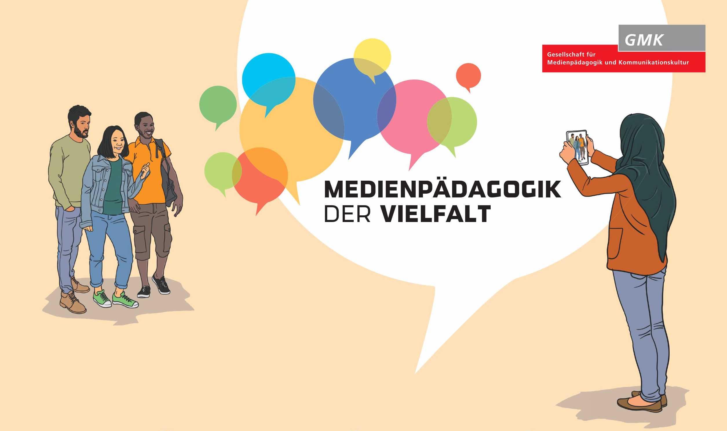 """Logo """"Medienpädagogik der Vielfalt"""""""